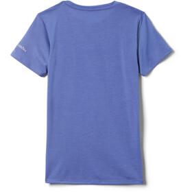 Columbia Ranco Lake Lyhythihainen T-paita Tytöt, african violet